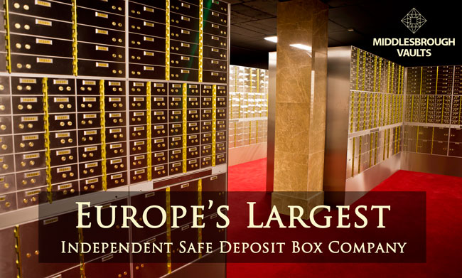MIDDLESBROUGH VAULTS Safe Deposit Boxes